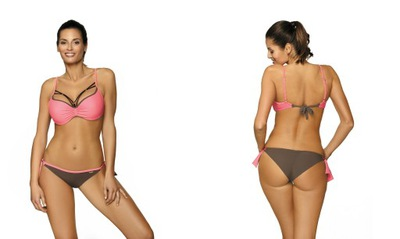 a12fbbcbb347aa 2942 Majtki Brazilian od bikini stroju w cętki S 7526388259 - Allegro.pl