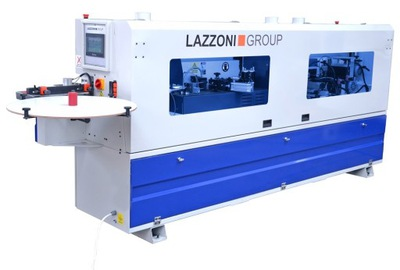 Кромкооблицовочный станок LAZZONI PRO 12 .6 скругление углов