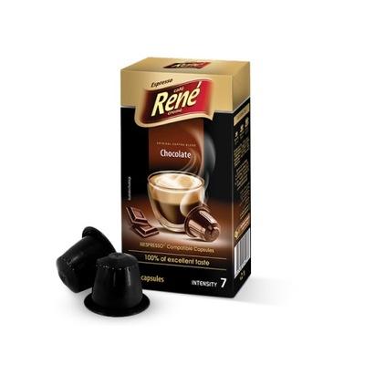 Рене Chocolate капсулы для Nespresso 10шт
