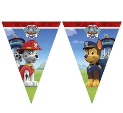 Баннер на день Рождения ФЛАГ-Собачий Патруль -230 см