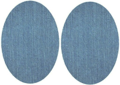 2 штук ПАТЧЕЙ термо джинсы Светлый Instagram ЗАПЛАТЫ