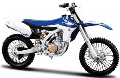 YAMAHA YZ 450 F мотоцикл модель 1 :12 Maisto 31101