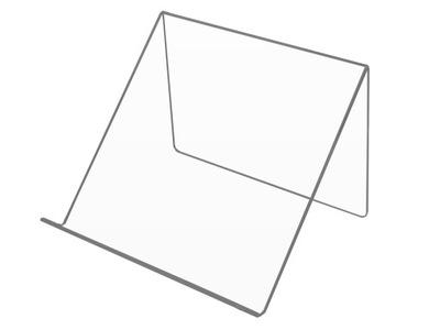 PODSTAWKA 25 cm 45 stopni LAPTOP TABLET Plexi 3mm