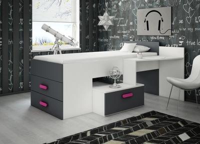 кровать кровать с письменным столом и комод мебель СКАЗКА