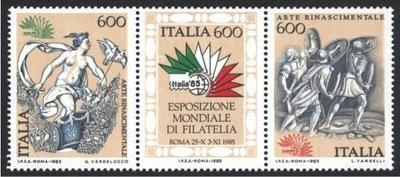 Италия 1985 Марки Мне 1907-9 **  возрождение