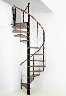 Лестница Вьющиеся Венеция Black 3M fi 140 см.