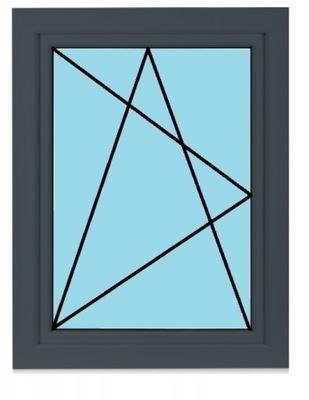 OKNO 100 X 120 w Okna szare na Allegro Tanie okna typowe