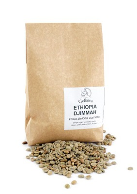 кофе зеленый ? зернах Ethiopia Djimmah 1кг