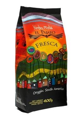 Yerba Mate элем Pajaro Fresca 400г elaborada Ноль ,4 кг