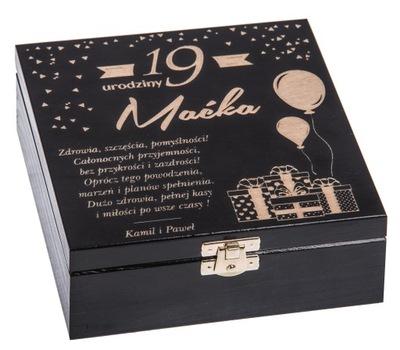 коробка подарок 18 30 40 день рождения основы!!!