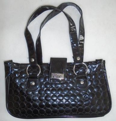 8e08f25945cbe CHIC mała torebka wizytowa + kosmetyczka