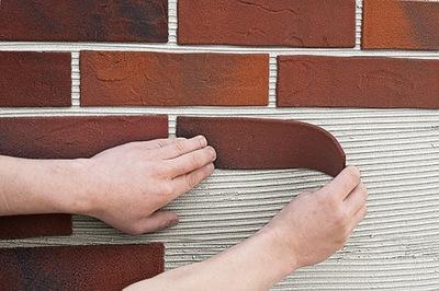 Имитация клинкера Фасадная instagram строительные блоки