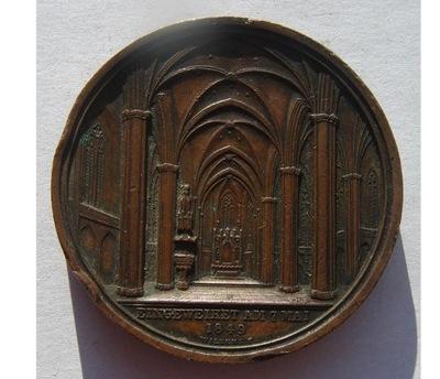 1849 Гамбург торжественное Открытие Церкви св. Петра