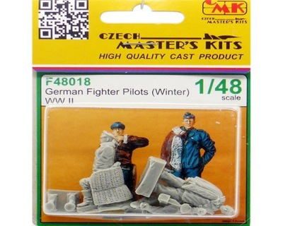 ??? F48018 Германий Fighter Pilots Winter WW II 1 :48