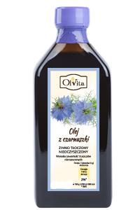 OlVita Olej z czarnuszki egipskiej zimno tłoczony