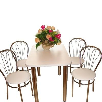 стол 100 НА 60 + 4 стулья