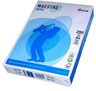 Papier ksero A3 250g MAESTRO EXTRA Premium MONDI