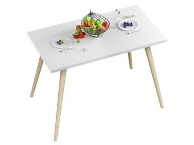 стол СТОЛ Кухня -70x40x18-Белый -НОЖКИ БУКОВЫЕ