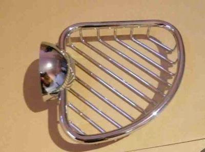 Artweger GODIVA Ażurowa narożna mydelniczka metal