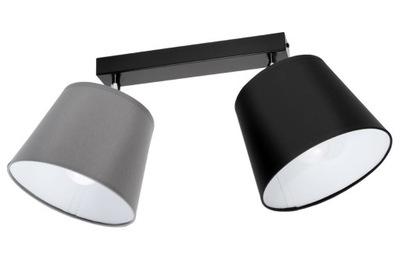 stropné svietidlo stropné svietidlo luster 2 kužeľ odtiene