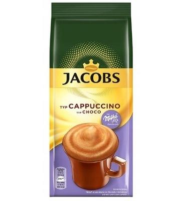 кофе ДЖЕЙКОБС КАПУЧИНО ШОКОЛАД MILKA CHOCO 500?