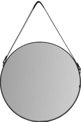 Круглые зеркало 65 СМ черные чердак В СТРОКЕ Рама