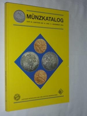 КАТАЛОГ АУКЦИОНА,MUNZKATALOG АУКЦИОН 10 11 ,2004 года