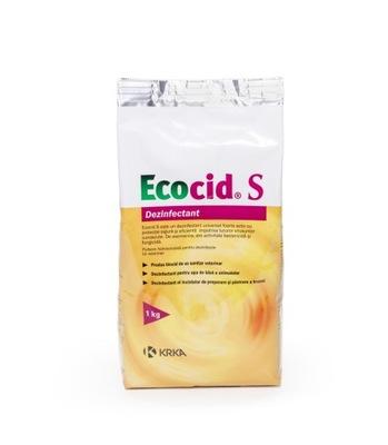 Ecocid S дезинфекция курятника вирусы, бактерии 1кг