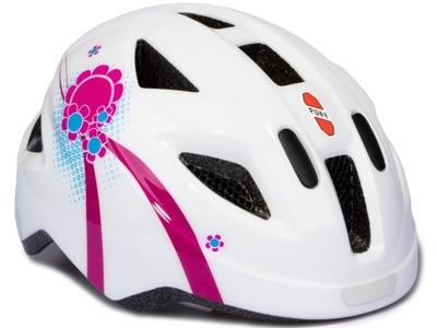 Prilba GEOBY PH 8 S/M, biela / ružová 9593 pre deti