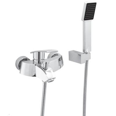 vaňa zvukový PULT na STENU sprchovým KÚTOM, RHODOS