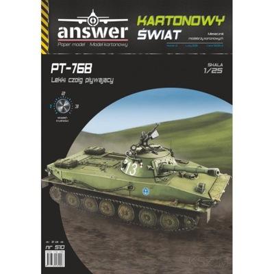 Answer 510 - Легкий танк instagram PT-76B 1 :25