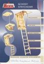 Podkrovné schody 120x70 70x120 H=290 BIELA 36 mm