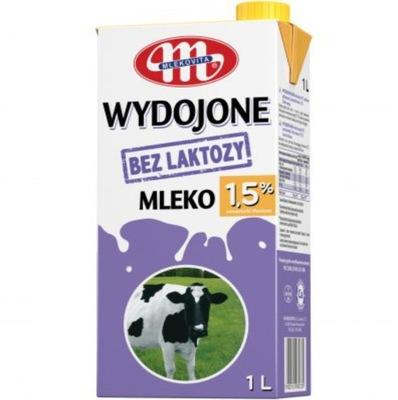MLEKOVITA ДОИЛА БЕЗ ЛАКТОЗЫ БЕЛОК 1 ,5 % 1л x 1O