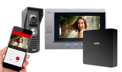 VIDEO DVERE TELEFÓN VIDEO ZÁZNAM TELEFÓN VIDEO INTERKOM WI-FI PAMÄTAŤ