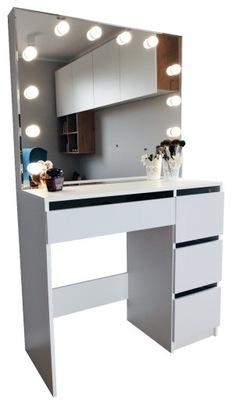 ТУАЛЕТНЫЙ столик для МАКИЯЖА ВИЗАЖА С ПОДСВЕТКОЙ зеркало