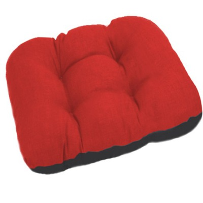 подушка ясик на стул садовое 48x48 красн