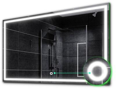 зеркало подсветка LED + сенсорный 70х50 - 24 AT