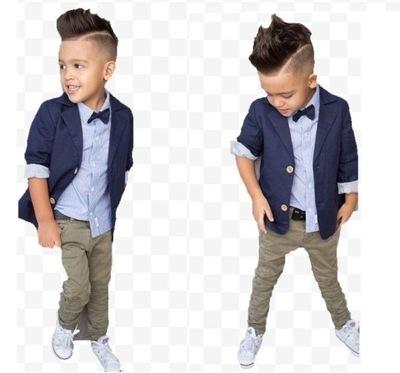 Elegancki komplet dla chłopca dżentelmen 115