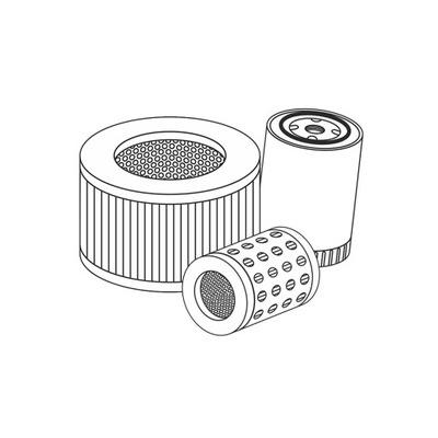 HATZ комплект фильтры 1B40 1B50 комплект сервисный