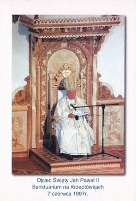 ПАПА Иоанн Павел II - КШЕПТУВКИ - 7 .06.1997