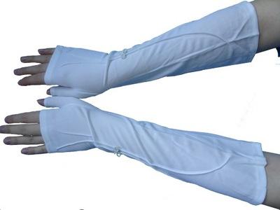 Rękawiczki ślubne z jednym palcem