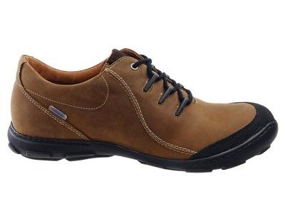 Badura buty komfort skóra 2159-074 brąz 44