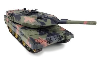 Танк HENG LONG Leopard II A5 1 /24 Звук,  , ИК