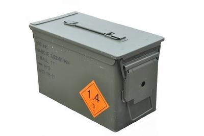 коробка металлический-после амуниции коробка военная ##