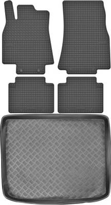 Mercedes B-klasa W245 Dywaniki + mata bagażnika