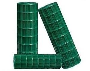 Drôtené pletivo plot, pozinkované + PVC zelená, 20m, h1.5m