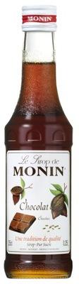 сироп вкусовой Monin Шоколадный 250 мл для кофе