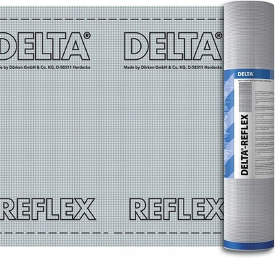 пленка алюминиевая АРМИРОВАННАЯ DORKEN DELTA REFLEX 75м2