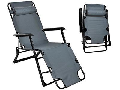 Stoličky Lehátko na Pláži, Záhrada, Spevnené Veľké 180 cm
