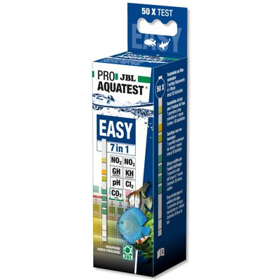 JBL ТЕСТ PRO Easy 7W1 - 50 измерений, тест-полоски